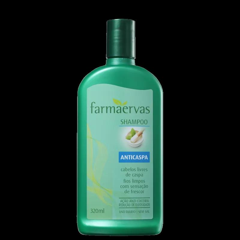 Farmaervas Anticaspa Shampoo 320ml.