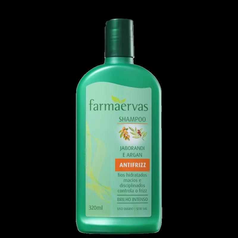 Farmaervas Jaborandi e Argan - Shampoo 320ml.