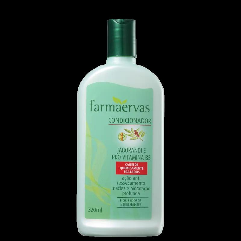 Farmaervas Jaborandi e Pró Vitamina B5 Condicionador 320ml.