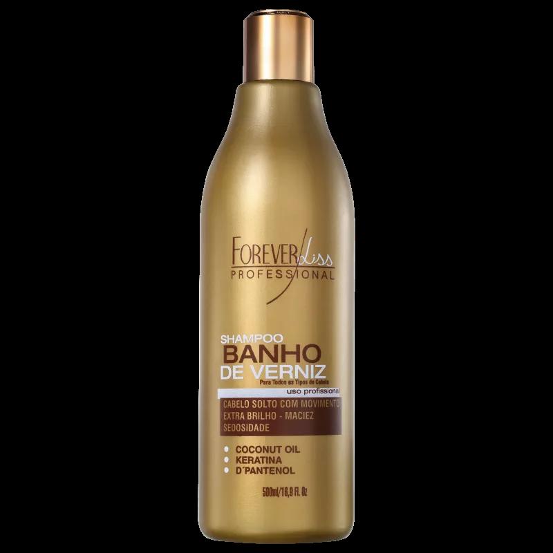 Forever Liss Professional Banho de Verniz - Shampoo 500ml.
