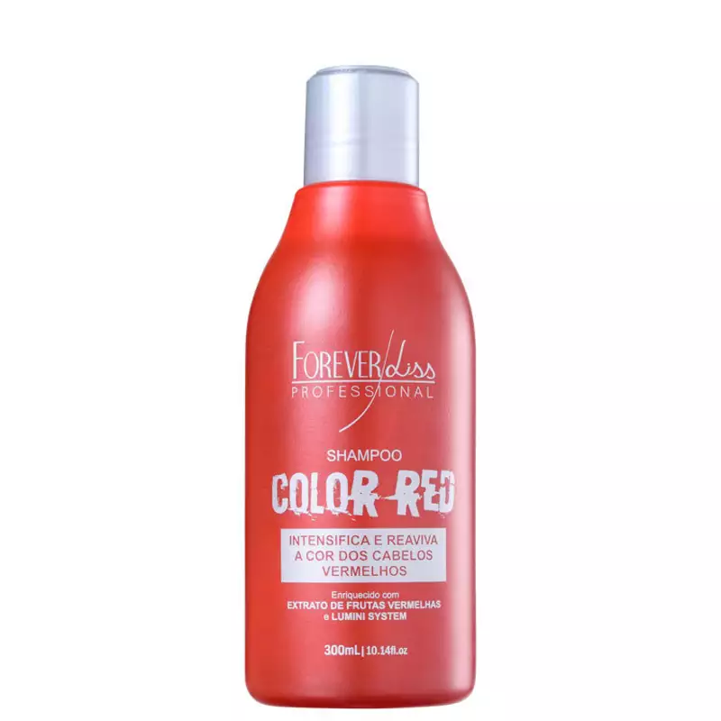 Forever Liss Professional Color Red - Shampoo 300ml.