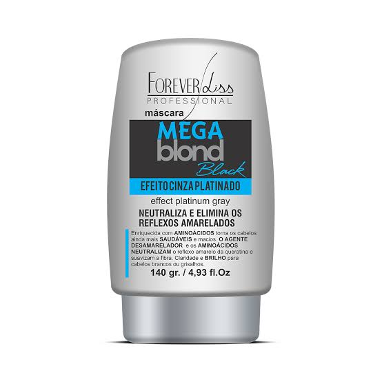 Forever Liss Professional Mega Blond Black Máscara Matizadora 140g.