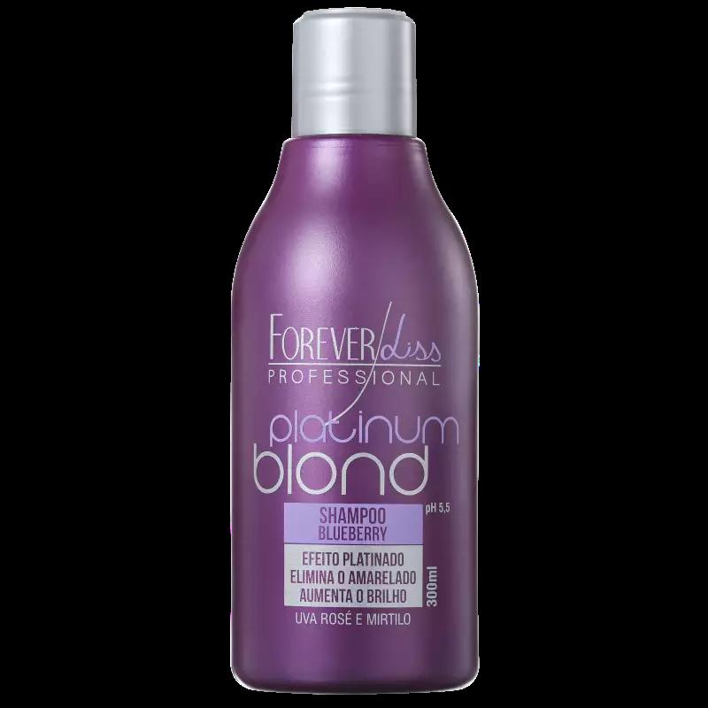 Forever Liss Professional Platinum Blond - Shampoo Matizador 300ml.