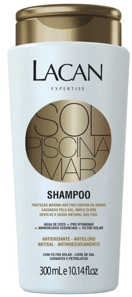 Shampoo Sol, Piscina, Mar Lacan 300ml