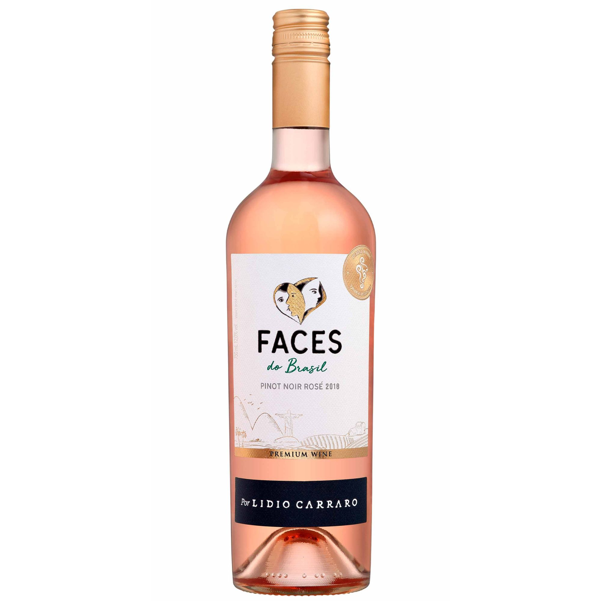 Lidio Carraro Faces do Brasil Rosé