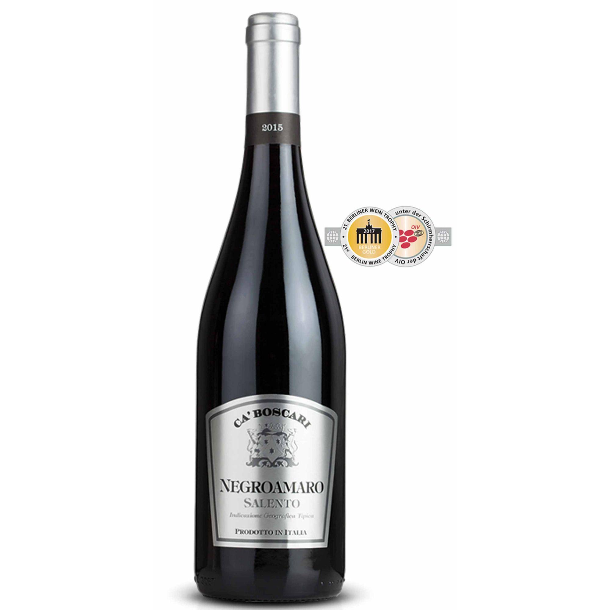 Vinho Ca'Boscari Negroamaro Salento IGT