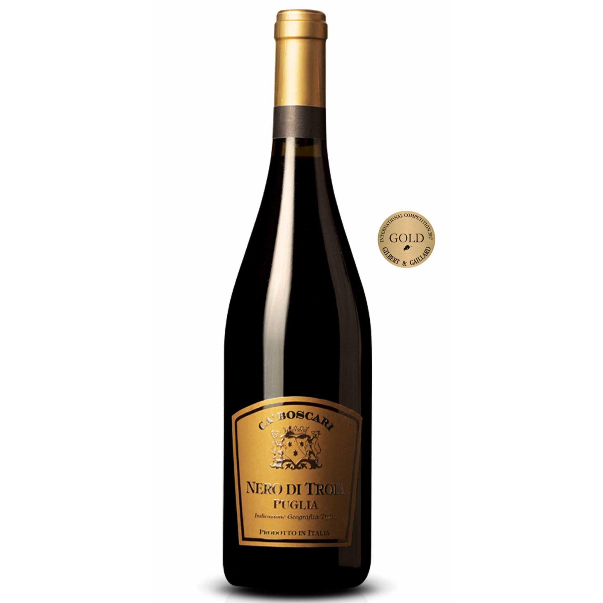 Vinho Ca'Boscari Nero di Troia Puglia IGT