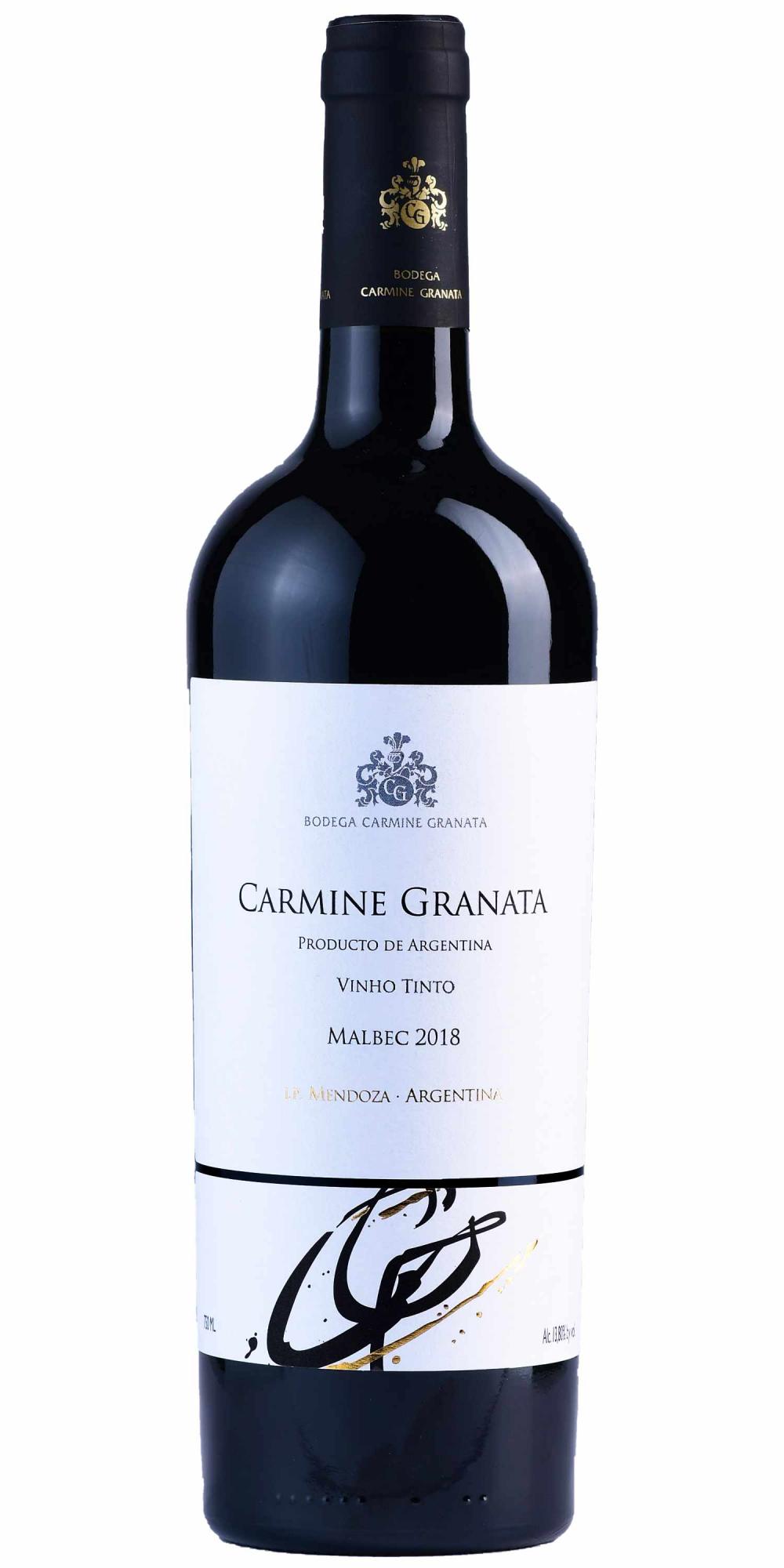 Vinho Carmine Granata Malbec