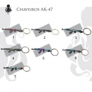 Chaveiros AK-47 Skin's Personalizadas