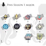 Pins Major - 1