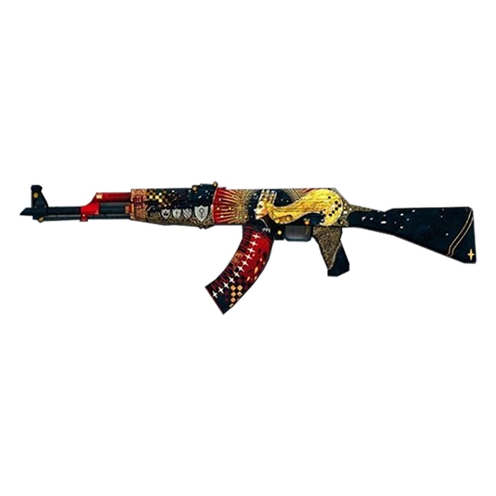 AK-47 58cm MDF 6MM ADESIVADOS