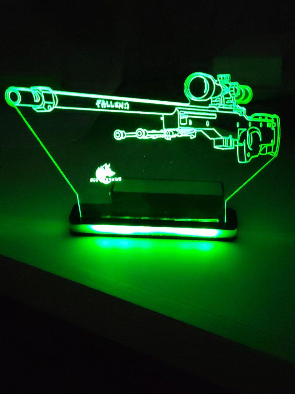 Luminária AWP em LED de Alta Voltagem