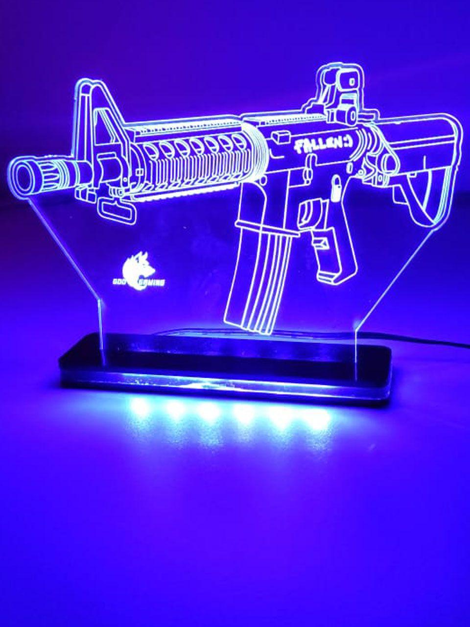 Luminária M4A4 em LED de Alta Voltagem