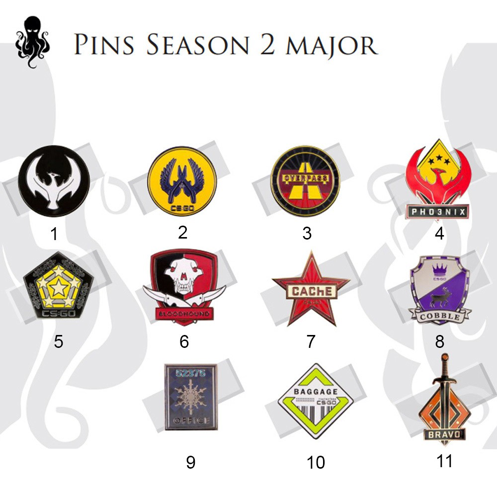 Pins Major - 2