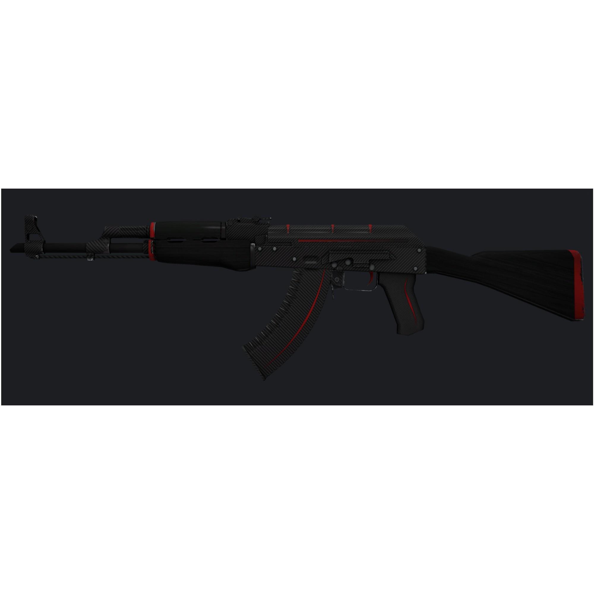 Quadro Decorativo AK-47 Skin CsGo em MDF Adesivado