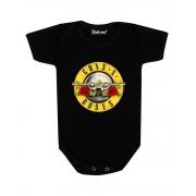 Body Bebê Banda Guns ´N Roses Rock´n Roll