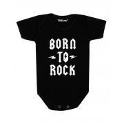 Body Bebê Born To Rock