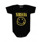 Body Bebê Rock Nirvana