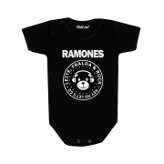 Body Bebê Rock Ramones Baby