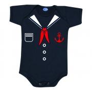 Body bebê Roupa Marinheiro