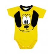 Body de Bebê Pluto Orelhas Mêsversário