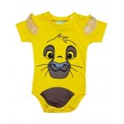Body de Bebê Simba Rei Leão Mêsversário