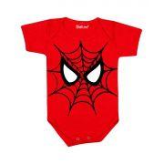 Body de Bebê Super Herói Homem Aranha
