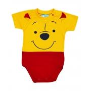 Body de Bebê Ursinho Pooh Mêsversário