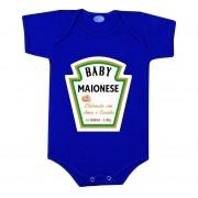 Body Divertido Bebê Maionese