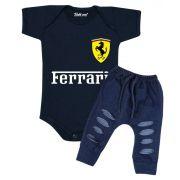Conjunto Bebê Body Estiloso Ferrari