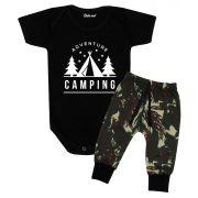 Conjunto Bebê Estiloso Happy Camping