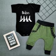Conjunto Bebê Menino Estiloso The Beatles Rock