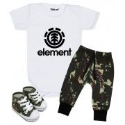 Conjunto de Bebê Element Camuflado