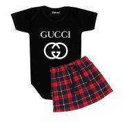 Conjunto de Bebê Menina Gucci