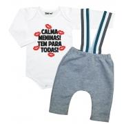 Conjunto Estiloso Bebê Calma Meninas
