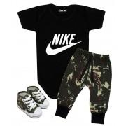 Conjunto Estiloso Bebê Nike Camuflado