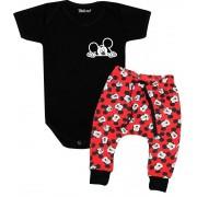 Conjunto para Bebê Body + Calça Mickey