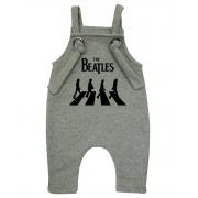 Jardineira Para bebê Macacão Estiloso Rock The Beatles Mescla