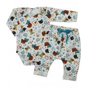 Pijama para bebê Ursos Masculino