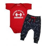 Roupa Bebê Futuro Atleta de Crossfit