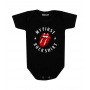 Body Bebê Rock My First Rock Shirt Rolling