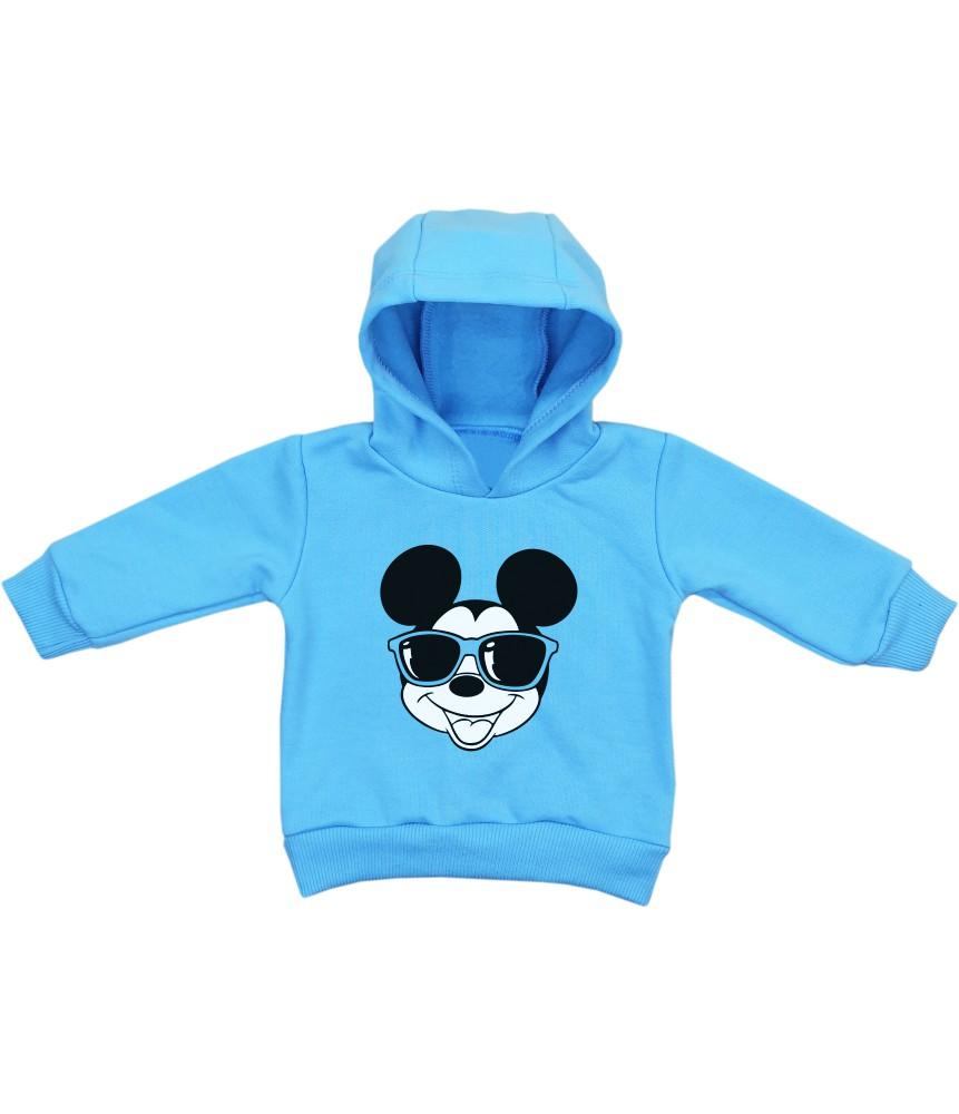 Blusa Moletom Bebê Mickey Estiloso