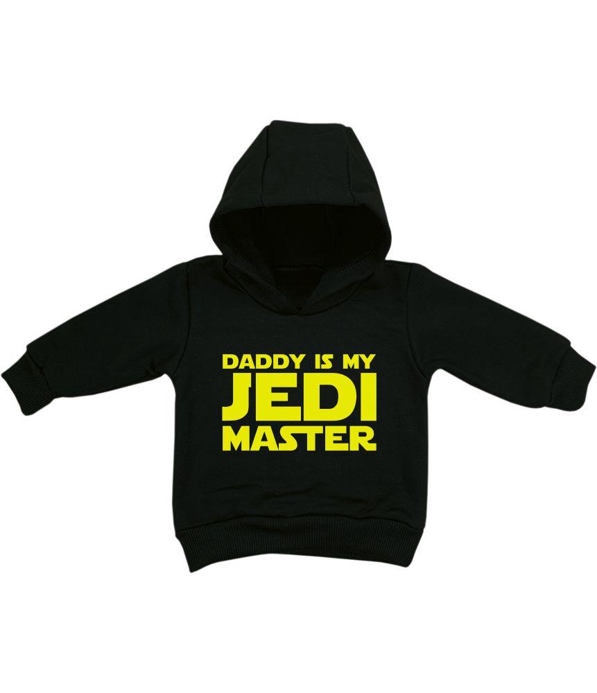 Blusa Moletom Bebê Star Wars Daddy is my Jedi Master