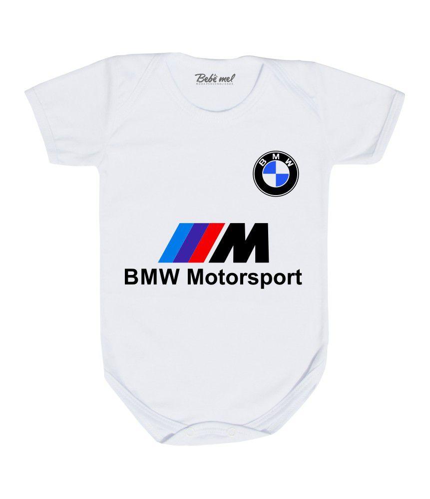Body Bebê Automobilismo BMW