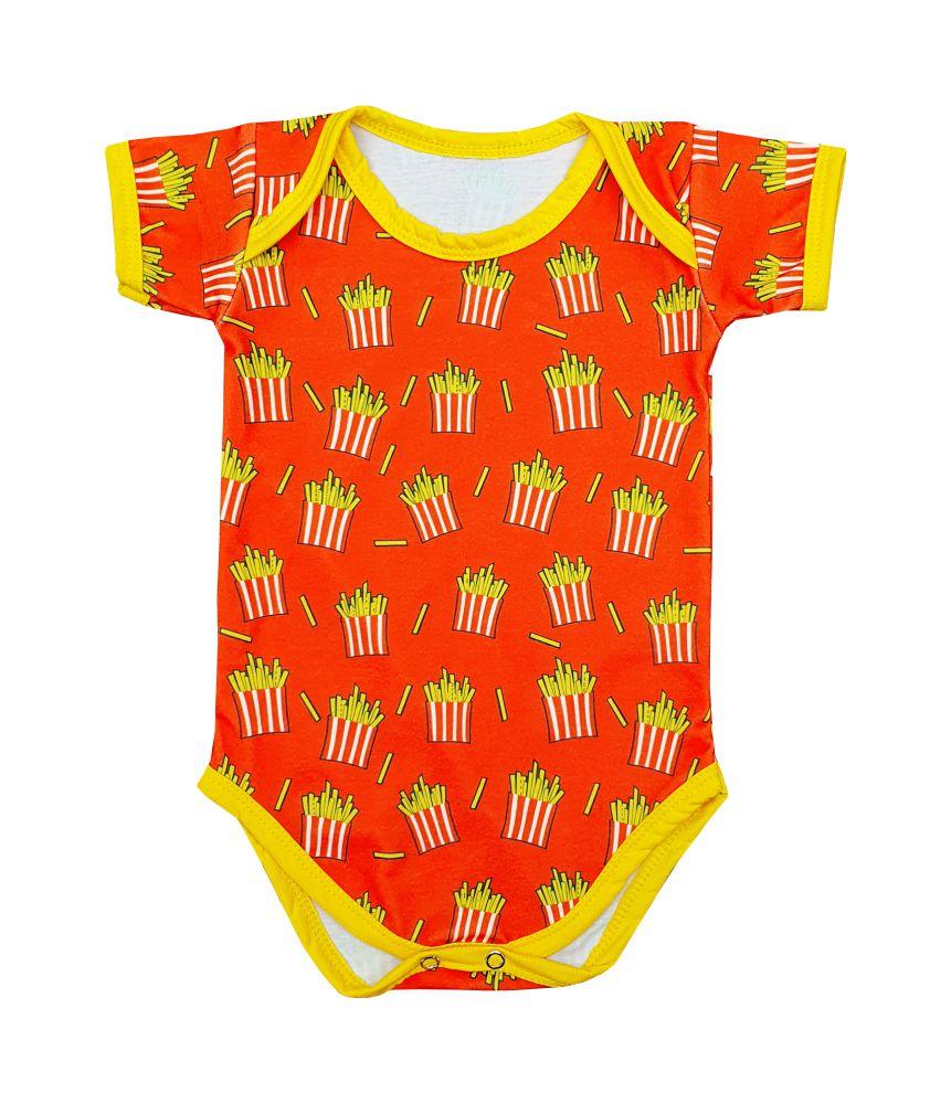 Body Bebê Divertido de Batata Frita