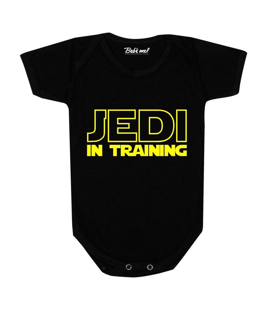 Body Bebê Geek Jedi in Training Star Wars