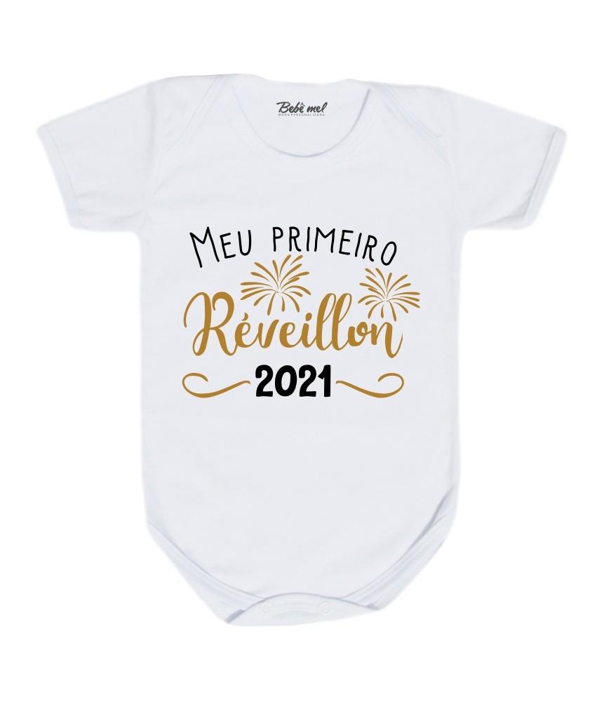 Body Bebê Meu Primeiro Réveillon 2021