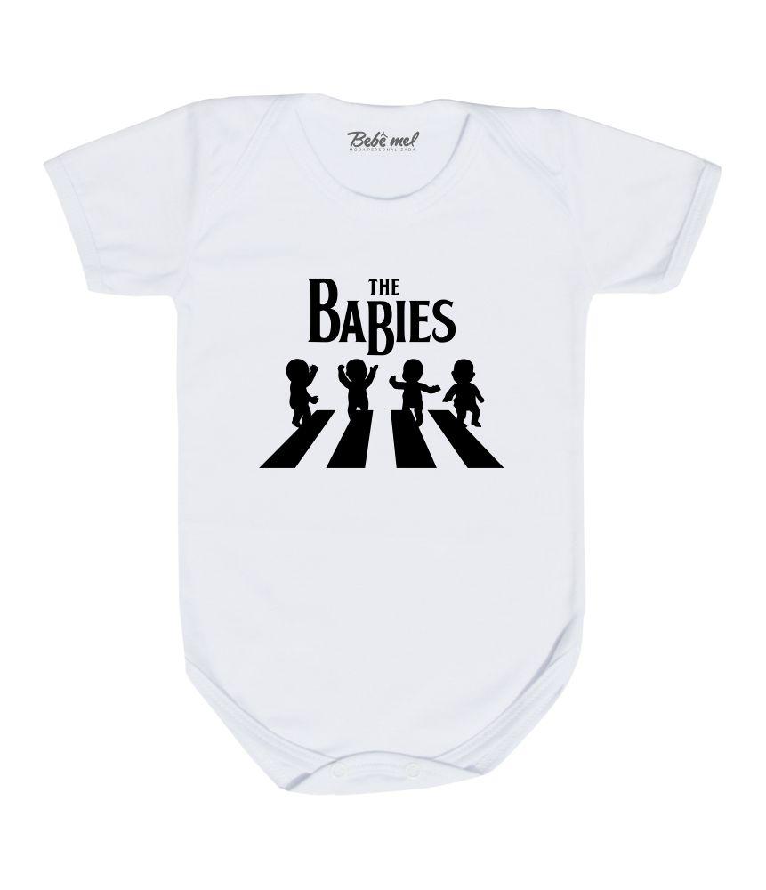 Body Bebê Rock The Beatles Babies
