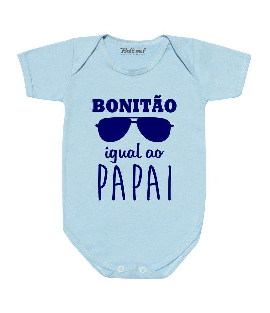 Body Bonitão Igual o Papai