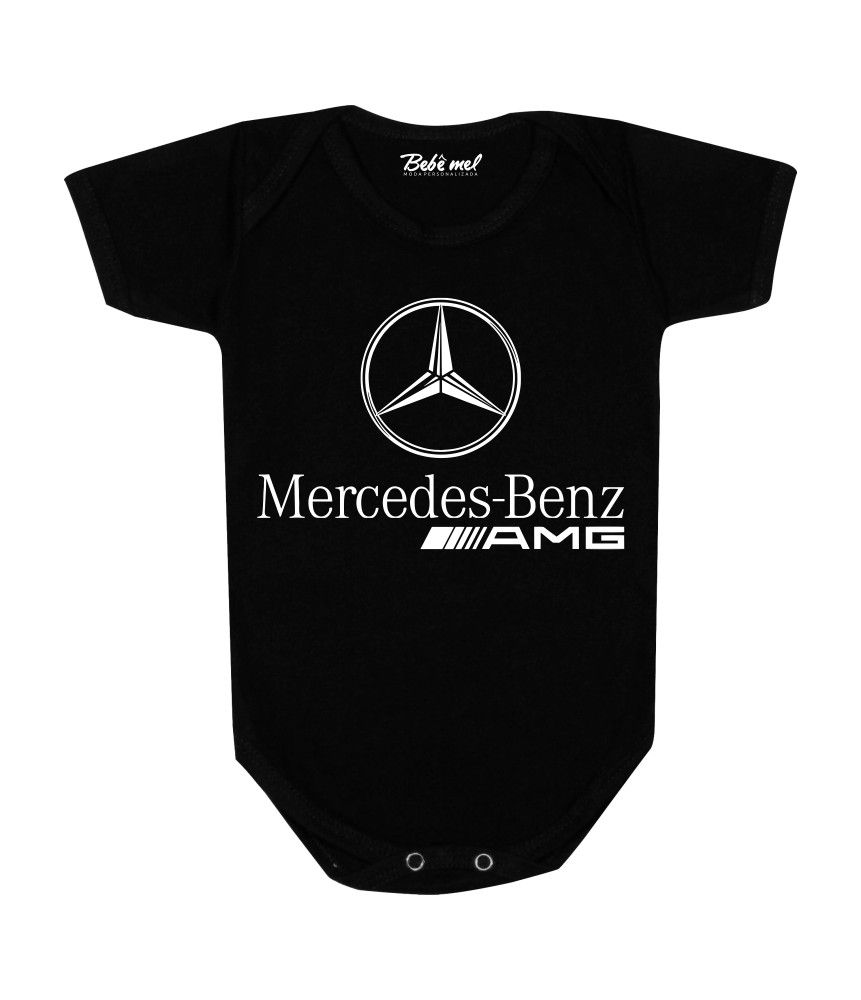 Body de Bebê  Automobilismo Mercedes Benz